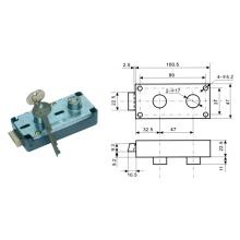 Cerradura de la llave y de la marca de dedo, caja segura Cerradura de la marca del dedo Al-125A-1
