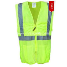 Classic Surveyor Mesh Hi Vis Yellow Vest