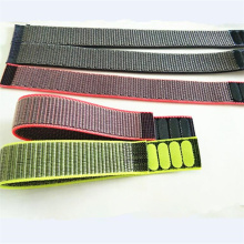 Nylon Sport Loop Armband voor Apple horlogeband