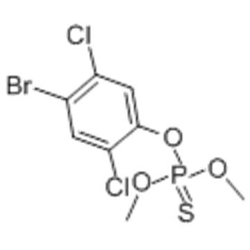 Phosphorothioic acid,O-(4-bromo-2,5-dichlorophenyl) O,O-dimethyl ester CAS 2104-96-3