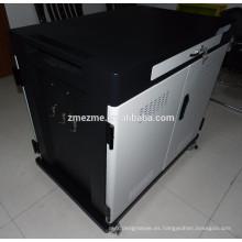 Caja de carga de aprendizaje segura eléctrica del puerto IPad 40 del puerto de la tableta de ZMEZME 2016 Carretilla de carga del carro de carga de Ipad