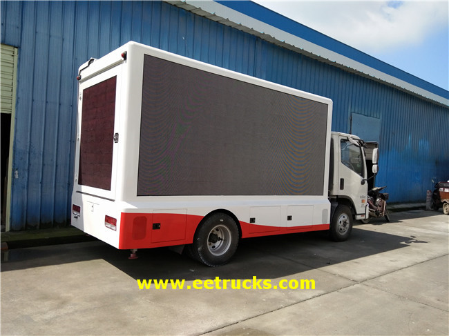 Outdoor LED Screen Trucks