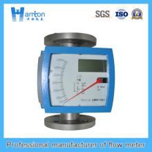 Instalación vertical 304 Metal Rotameter de tubo para Dn50-Dn100