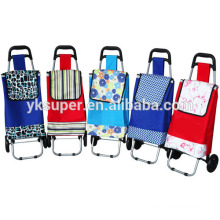 Factory price foldable shopping trolley bag wholesale