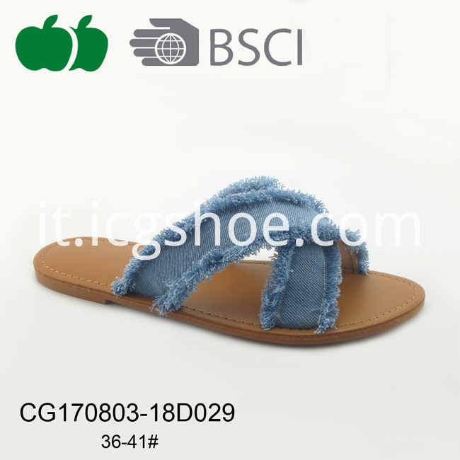 summer womens slipper