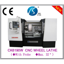 Automatic CNC Lathe Used to Repair Car Wheel Hub