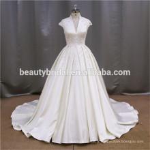 Robe de bal de dentelle boucle de mariée gilets de mariage