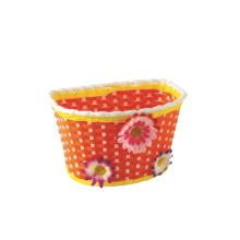 Removable PVC Bicycle Basket for Kids Bike (HBK-161)