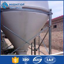 Alibaba China animal feed storage steel silo for chicken farm