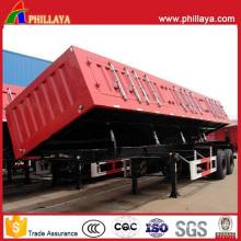 Hydraulic Dump Tipper Truck Semi-Trailer Side Dumper Trailer