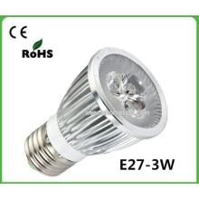 Светодиодные огни E27 Светодиодное пятно освещения 3W Светодиодный прожектор
