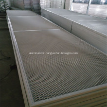 Aluminium Expanded Metal Mesh as Building Decoration