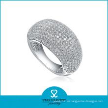 Moda 925 anillo de plata esterlina para muestra gratis (R-0011)