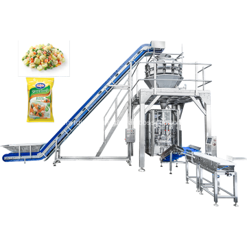 Auto Frozen Carrots and Peas Packaging Machine