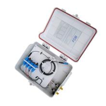 8ports ftth mini caixa de terminais de fibra óptica