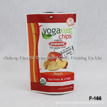 Dry Fruit Packaging Bag with Zipper