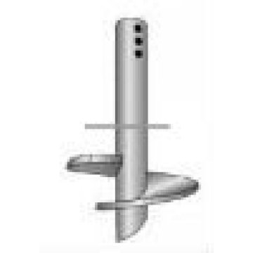 Round Helical Screw Post for Foundation