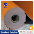 100% чистой окружающей среды пластик защищенный безопасность противоскользящие нескользящая амортизация оранжевый Личи волейбол крытый настил