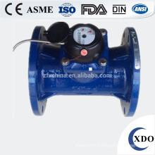 Compteur d'eau d'irrigation woltman XDO50-300 ISO4064 horizontal cadran sec