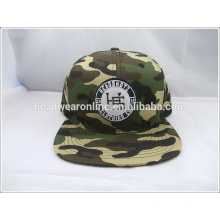 Personalizar Embriodered design Flat Bill Snapback Chapéus