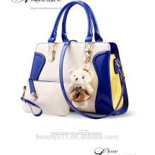 Los bolsos baratos de la nueva llegada fijaron el bolso impermeable HB44 del paquete 2pcs de la madre del monedero del bolso de la mano de cuero de las señoras del bolso de hombro