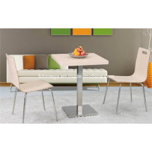 HPL Stainless Steel Restaurant Dining Table Set (FOH-BC10)