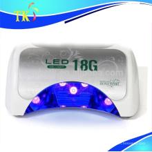 LED UV lamp18K 48w moda mini 18G lámpara luz / secador de uñas