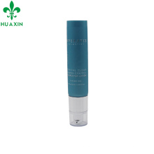 plastic tube with pump cap for skin care product