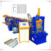 Automatische wechselbare CZ Purlin Profiliermaschine