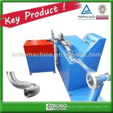Máquina de conducto flexible de aluminio puro