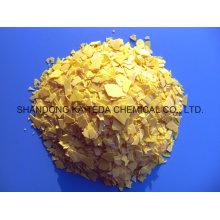 Flocons jaunes / rouges Sulfure de sodium de haute qualité 60% Min