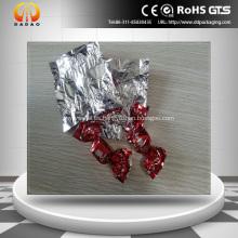 Envoltura metalizada de la película del caramelo del animal doméstico de 19um