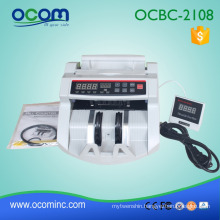 BC2108: supermarket cash counter banknote counting machine