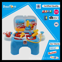2 couleurs médical jouets hôpital enfants médecin jeu ensemble
