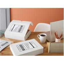 material de papel meia folha Amzon etiqueta de envio com baixo preço