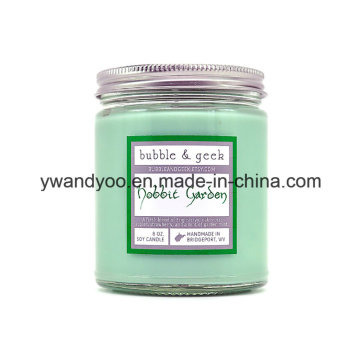 Clear Glass Jar Home Sense Candles for Wholesale