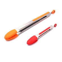 silicone utensils food tongs