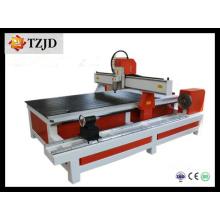 Diâmetro 350mm 400mm girando máquina de gravura CNC