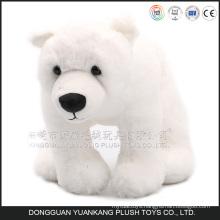 2016 Lovely Soft Mini Plush Polar Bear For Promotion, Promotional Small White Plush Polar Bear