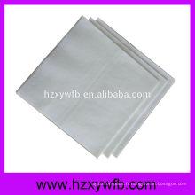 Serviettes en lin de serviette de serviette de serviette d'Hemstitch d'un pli pour le restaurant