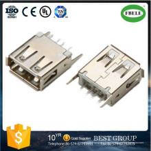 Conector de terminal de repuesto automático Conector mini USB Montaje del panel Conector a prueba de agua Terminal Conector micro USB Conector USB (FBELE)