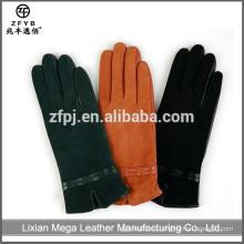 Venta al por mayor de China de alta calidad 14 pulgadas guantes de cuero