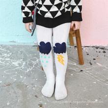 Fancy Designs Little Girl Dance Collants en coton Pantyhose Colorful Kid Cotton Tights