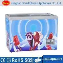 138-298Lchina Mini billige Eis-Display Gefrierschrank