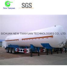Equipo de Almacenamiento de LNG de Gas Natural Líquido Semirremolque