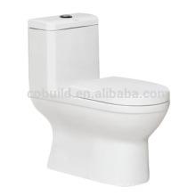 CB-9869 Siphonic One Piece Toilet Américas standard toilet flush WC vácuo sistema de vaso sanitário