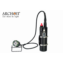Scuba Underwater 100m Waterproof 4000lm Diving LED Focus Torch