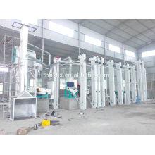 Venta caliente 2 toneladas por hora mejor planta de molino de arroz de precio de fábrica