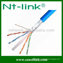 FTP 23AWG Cat6 cable de red sólido