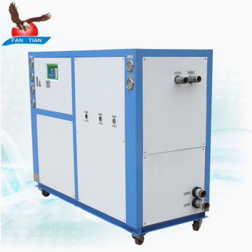 Industrial water cooled chiller cooled design system